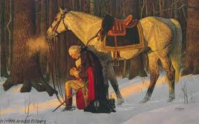 Christian Heritage - George Washington in Prayer