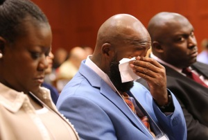 George Zimmerman trial (parents crying)