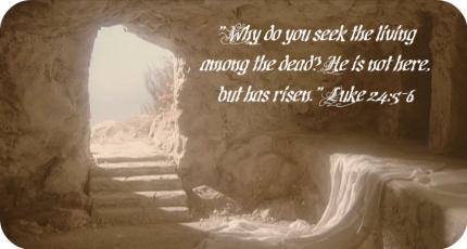 Jesus - has risen (Luke)
