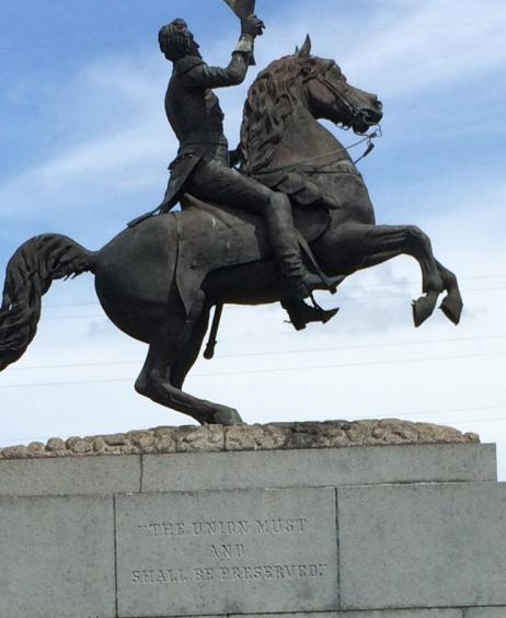 Andrew Jackson statue #2