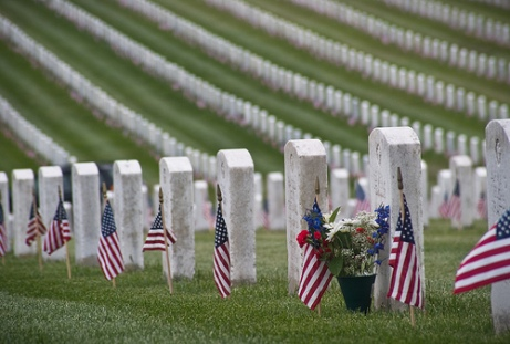 MEMORIAL DAY - cemetery