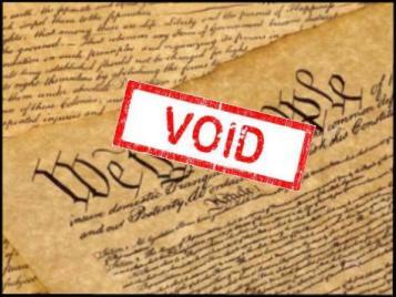 CONSTITUTION - void