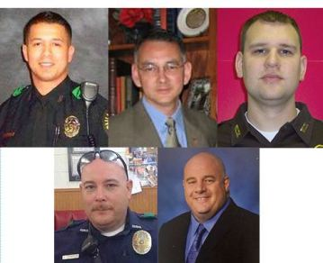 Dallas Shooting - victims