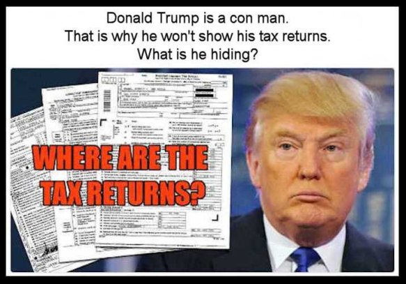 Trump - where are your tax returns