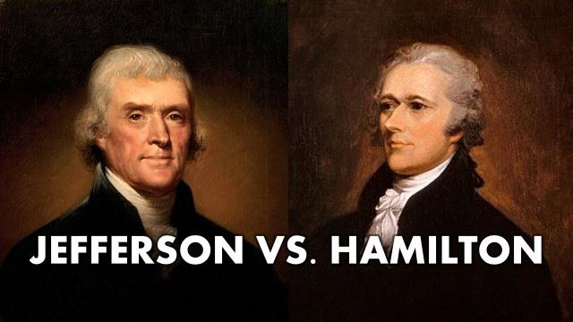 JEFFERSON - versus Hamilton