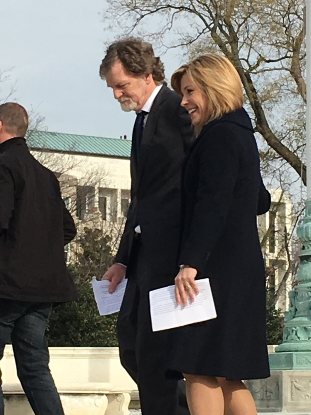 PHILLIPS CASE (Before the Supreme Court, Dec. 5, 2017) - Jack Phillips and his lawyer, Kristen Waggoner (Alliance Defending Freedom) - BEST