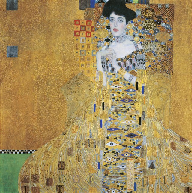 WOMAN in GOLD - the painting