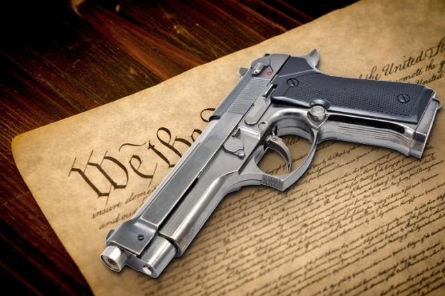 SECOND AMENDMENT - Firearm on Constitution