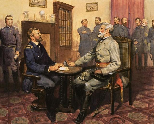 Robert E. Lee - Surrender at Appomattox