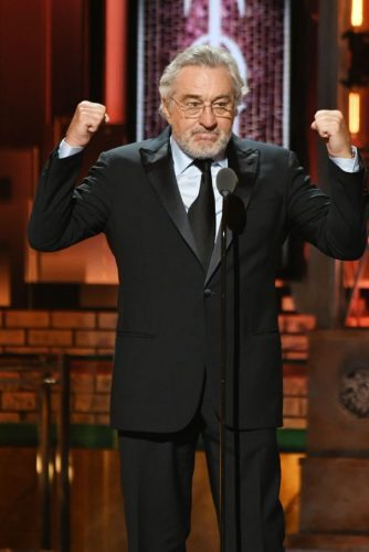 ROBERT DeNIRO - Tony Awards (WT News)