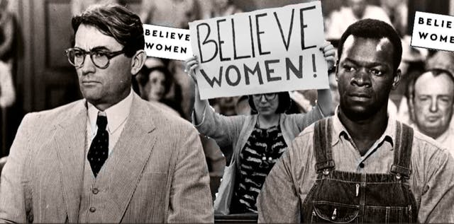 MEME - Believe Women (To Kill a Mockingbird)