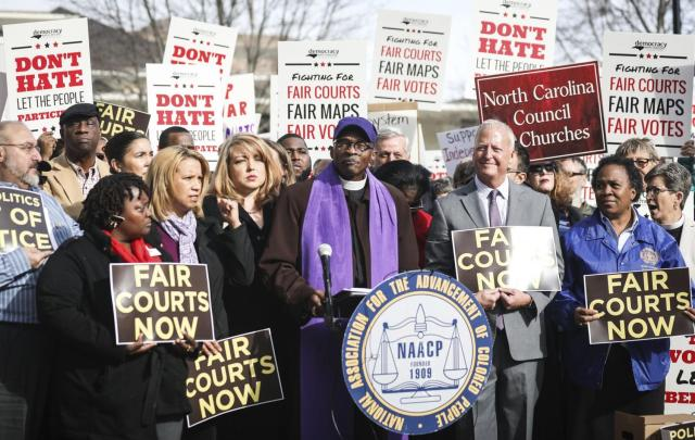 Rev. Anthony Spearman - NC NAACP (photo courtesty of Virignia Pilot)