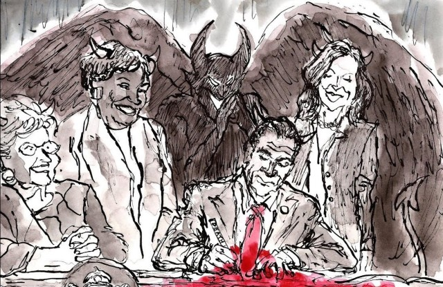 ABORTION - A Happy Day in Hell for New York City