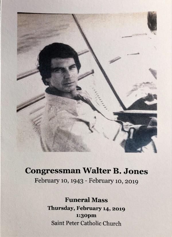 WALTER JONES - Funeral Service (February 14, 2019)