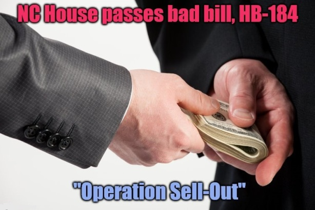 CCTA - HB184 (Operation Sell-Out)
