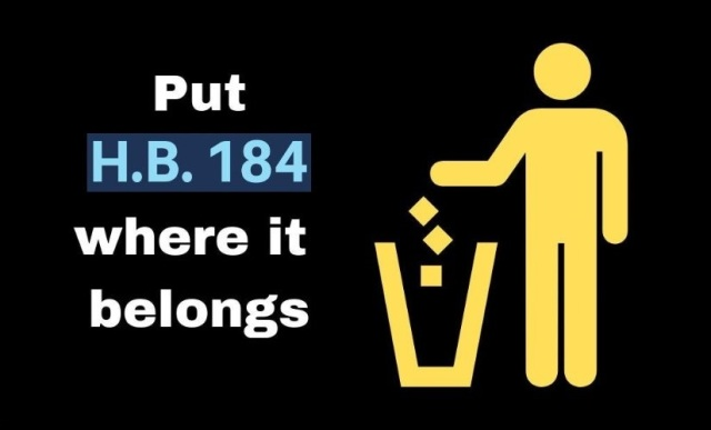 CCTA - HB184 (put it where it belongs - the trash)