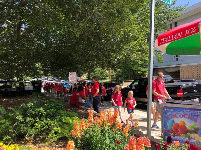 TEACHER PROTEST DAY in RALEIGH - Pic