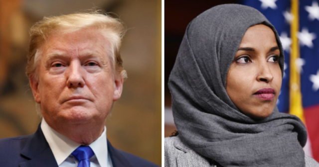 TRUMP and OMAR (Courtesy of Second Nexus)