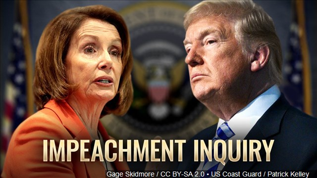 IMPEACHMENT INQUIRY - Trump v. Pelosi (Gage Skidmore, US Coast Guard)