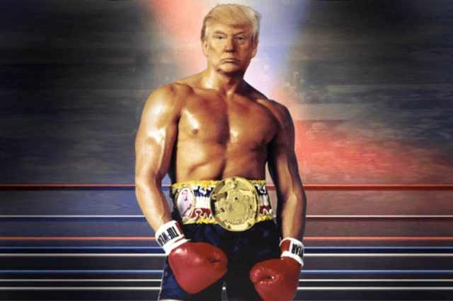 TRUMP - wrestling belt