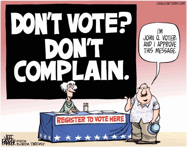 MEME - (cartoon) The Right to Vote